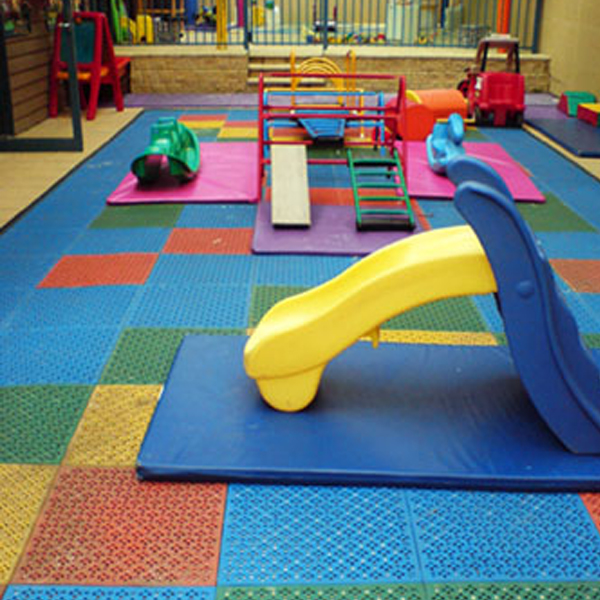 Alomair Rubber Factory - Soft flooring for children's play area